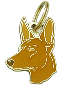 PHARAOH HOUND - pet ID tag, dog ID tags, pet tags, personalized pet tags MjavHov - engraved pet tags online